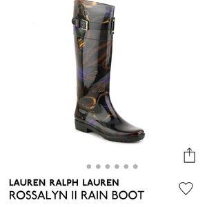 RALPH LAUREN Women's Rossalyn II Rain Boot